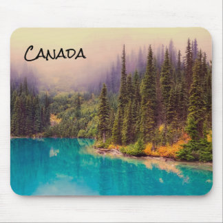 Scenic Northern Landscape Rustic Canada Mouse Pad