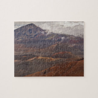 Scenic overview of mountain jigsaw puzzle