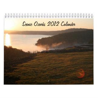 Scenic Ozarks 2012 Calander Calendars