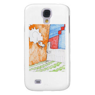 Scenic Pastoral of Pattern Samsung Galaxy S4 Covers