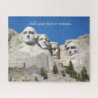 Scenic photo of Mount Rushmore National Memorial, Jigsaw Puzzle