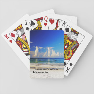 scenic playing cards