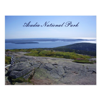 Scenic Postcard - Acadia National Park