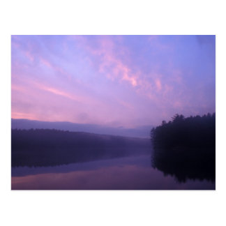 Scenic Potapaug Pond, Quabbin Reservoir MA Postcard