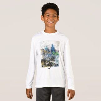 Scenic Prague in the Czech Republic T-Shirt