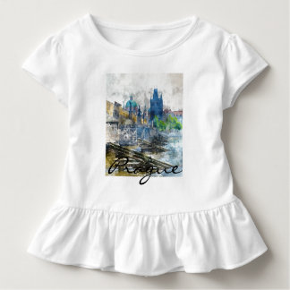 Scenic Prague in the Czech Republic Toddler T-shirt