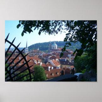 Scenic Prague Poster