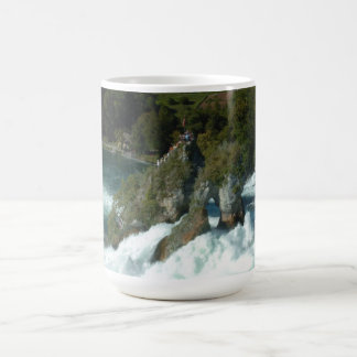 Scenic Rhine Falls in Switzerland Coffee Mug