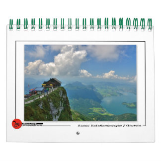 Scenic Salzkammergut Calendar