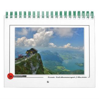 Scenic Salzkammergut Wall Calendar