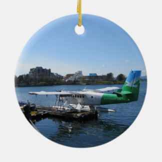 Scenic Seaplane in Victoria Ceramic Ornament