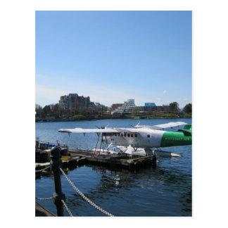 Scenic Seaplane in Victoria Postcard