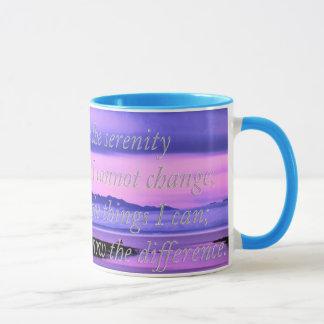 scenic serenity prayer mug