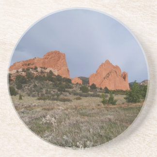 Scenic Series---Garden of the Gods Series Drink Coaster