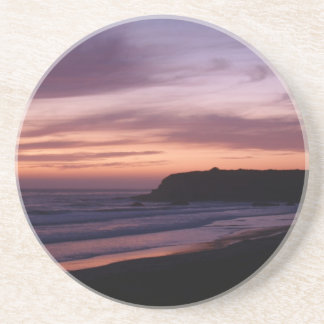 Scenic Series---Pink Ocean Sunset Coasters