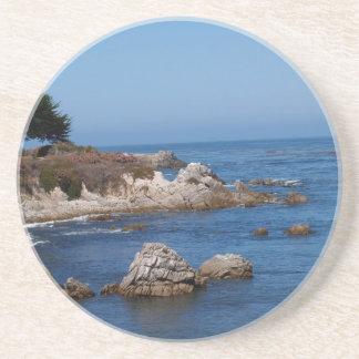 Scenic Series---Rocky California Coastline Beverage Coasters