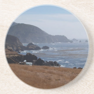 Scenic Series---Rocky California Coastline Drink Coasters