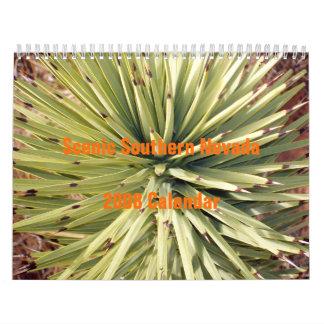 Scenic Southern Nevada 2008 Calendar