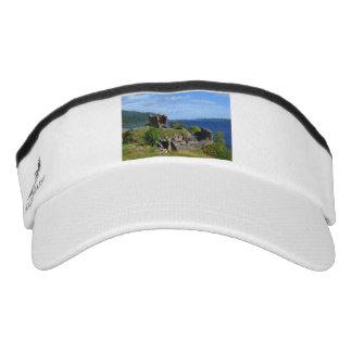 Scenic Urquhart Castle Ruins Visor