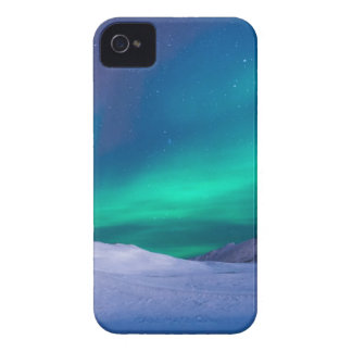 Scenic View of Dramatic Sky during Winter iPhone 4 Case-Mate Case