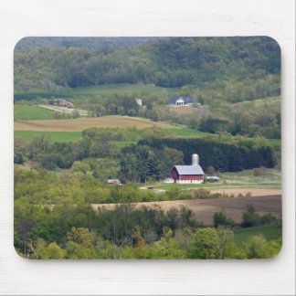 Scenic view of farmland south of Arcadia, Mouse Pad