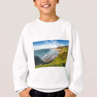 Scenic View of Landscape Against Sky Sweatshirt