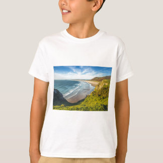 Scenic View of Landscape Against Sky T-Shirt