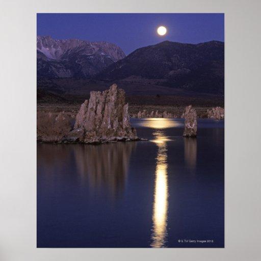 Scenic view of Mono Lake outside of Yosemite 2 Print