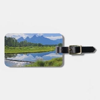 Scenic View of Mountains Luggage Tag