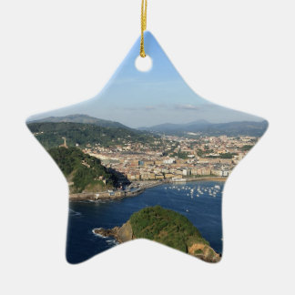 Scenic view of San Sebastian Ceramic Star Ornament