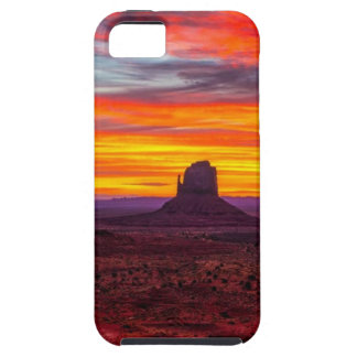 Scenic View of Sunset over Sea iPhone 5 Case