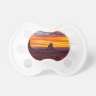 Scenic View of Sunset over Sea Pacifier