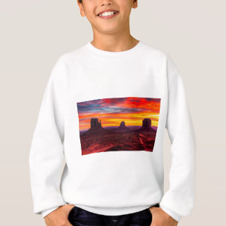 Scenic View of Sunset over Sea Sweatshirt