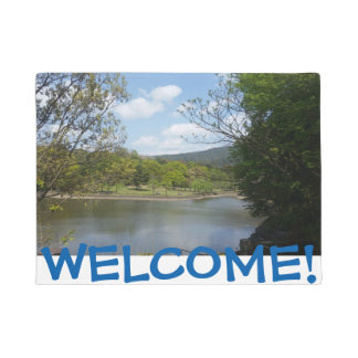SCENIC WELCOME MAT