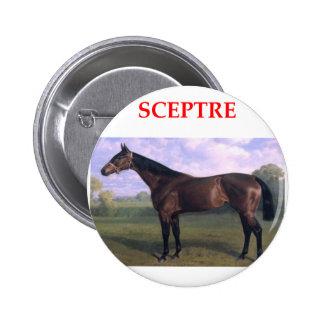 scepter pinback button