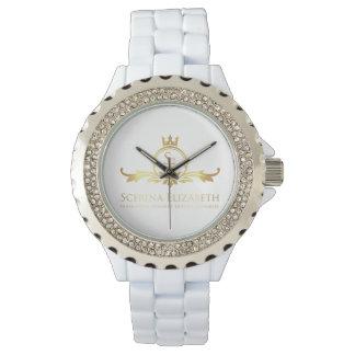 Scerina Elizabeth Signature Rhinestone Watch