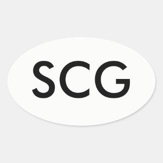 SCG sticker