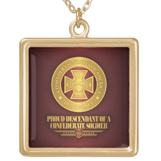 SCH -Proud Descendant Gold Plated Necklace