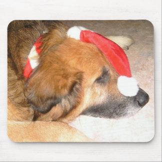Schäferhund Hund Lustig Weihnachten Christmas Mousepads