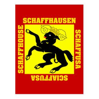 Schaffhausen Switzerland Canton Flag Post Cards