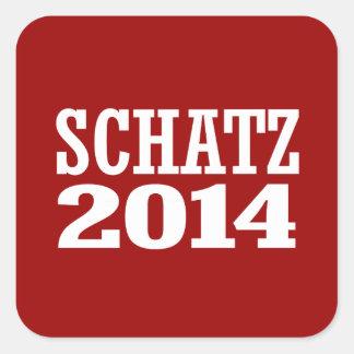 SCHATZ 2014 SQUARE STICKER