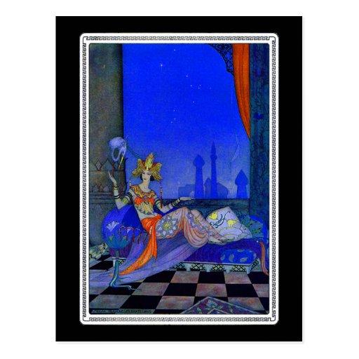 Scheherazade Post Card