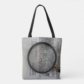 Schematic homebrew 1 tote bag