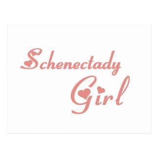 Schenectady Girl tee shirts Postcard