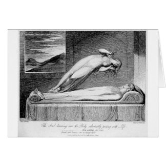Schiavonetti - Soul leaving body Card