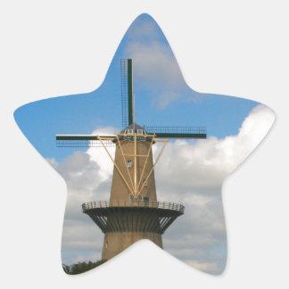 Schiedam, windmill star sticker