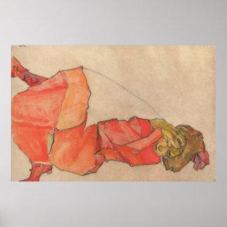 Schiele Art Poster