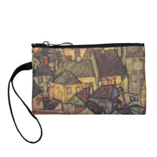 Schiele Yellow Houses Painting Bag