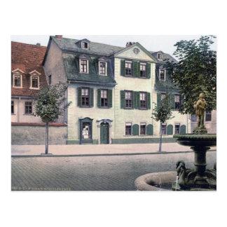 Schiller House Postcard