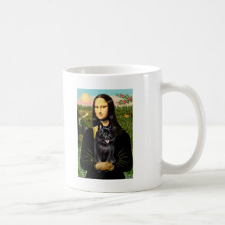Schipperke 7 - Mona Lisa Coffee Mug